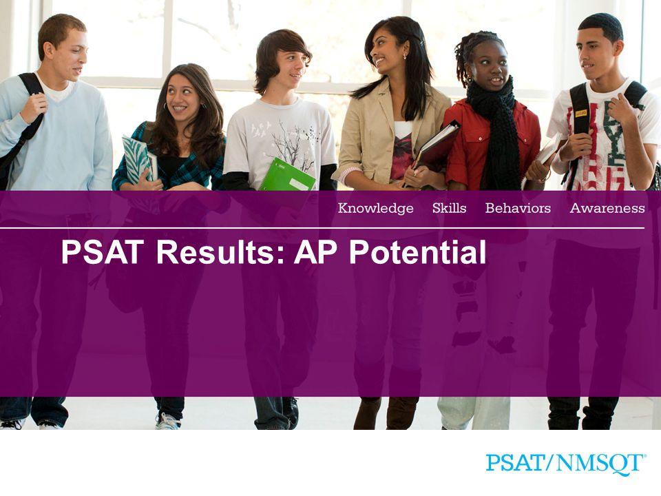 PSAT Results: AP Potential