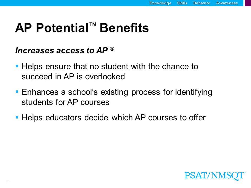 AP Potential™ Benefits