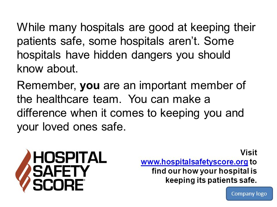 While many hospitals are good at keeping their patients safe, some hospitals aren't. Some hospitals have hidden dangers you should know about.