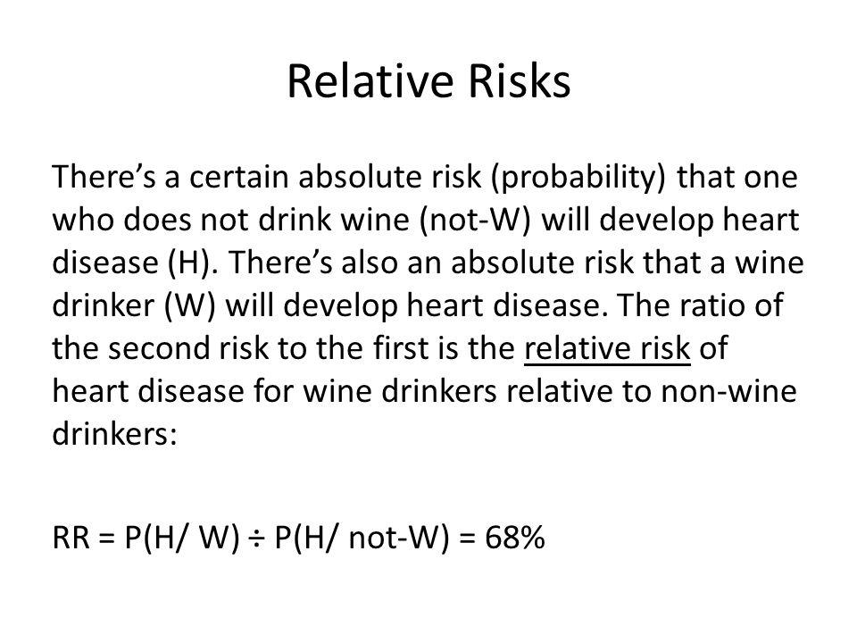 Relative Risks