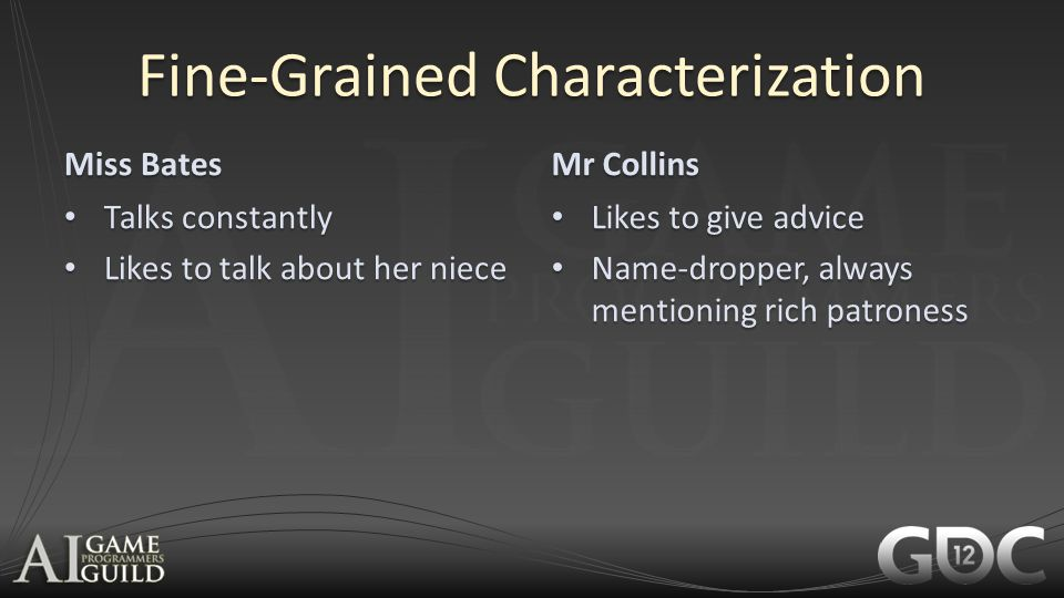Fine-Grained Characterization