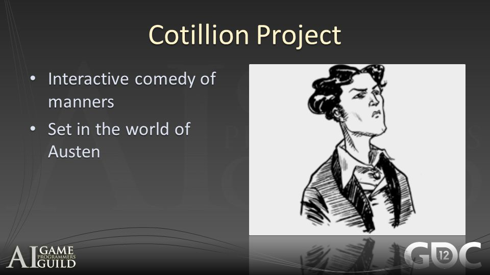 Cotillion Project Interactive comedy of manners