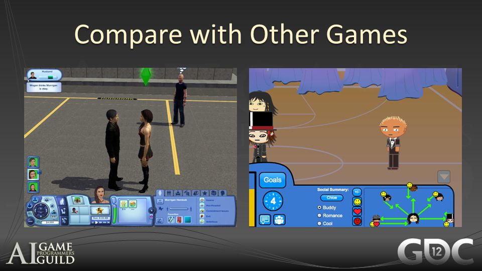 Compare with Other Games