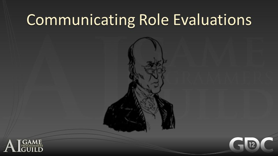Communicating Role Evaluations