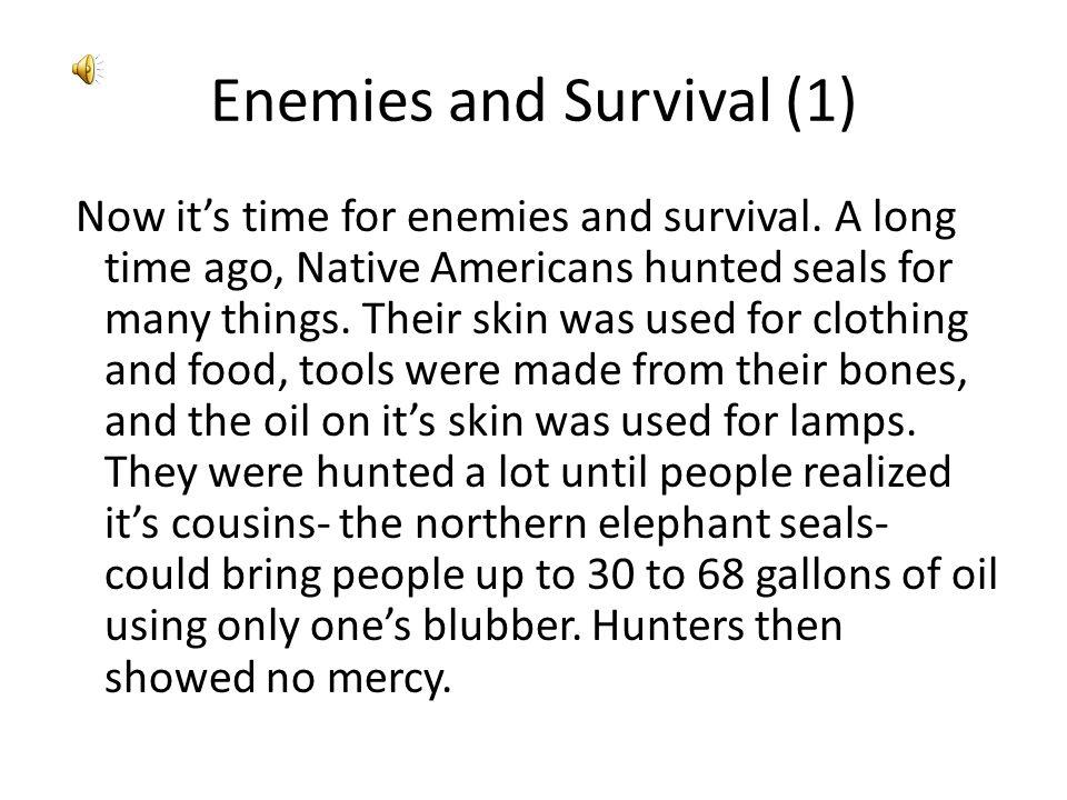 Enemies and Survival (1)