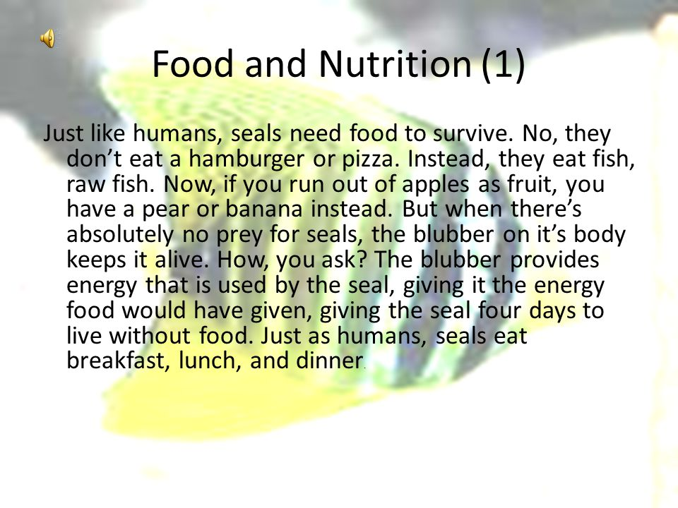 Food and Nutrition (1)