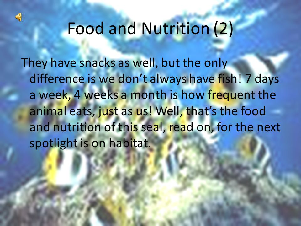 Food and Nutrition (2)