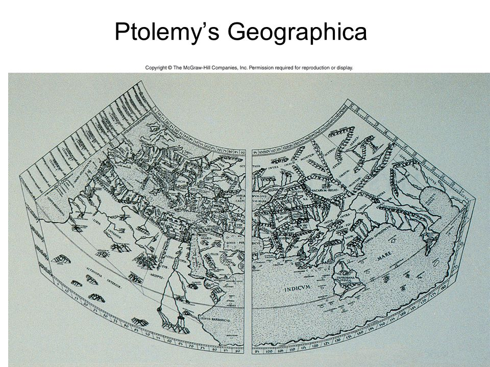 Ptolemy's Geographica