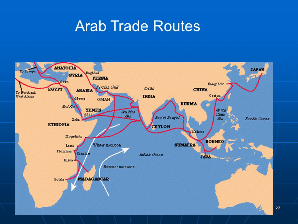 Arab Trade Routes