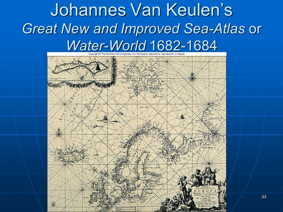 Johannes Van Keulen's Great New and Improved Sea-Atlas or Water-World 1682-1684