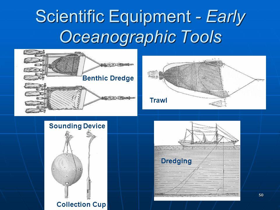 Scientific Equipment - Early Oceanographic Tools