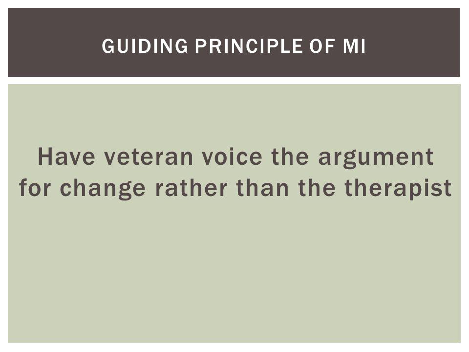Guiding principle of MI