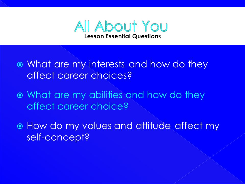 Lesson Essential Questions