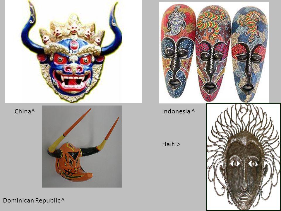 China^ Indonesia ^ Haiti > Dominican Republic ^