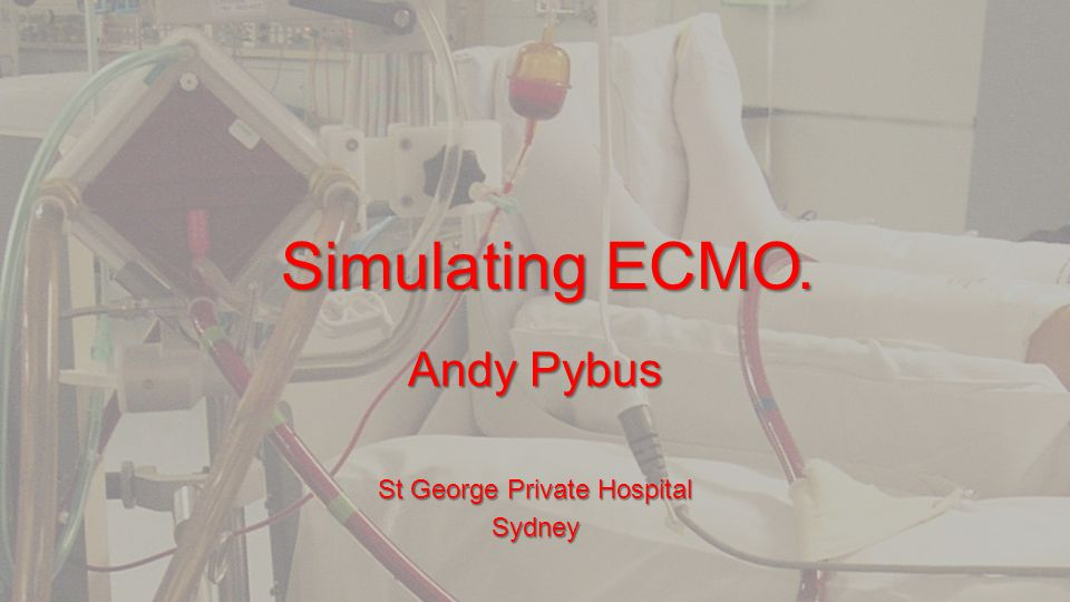 Andy Pybus St George Private Hospital Sydney