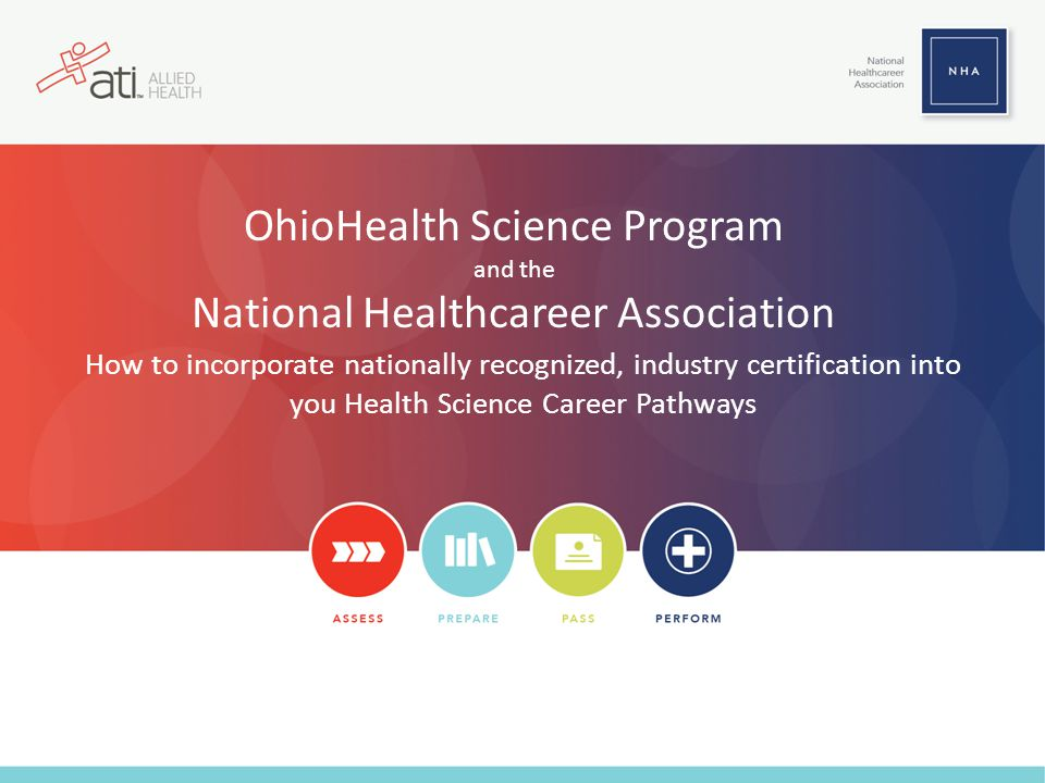 OhioHealth Science Program and the National Healthcareer Association