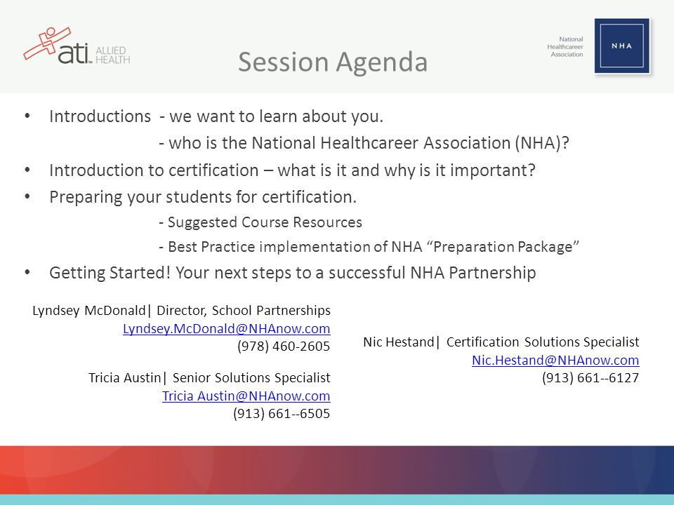 Session Agenda Introductions - we want to learn about you.