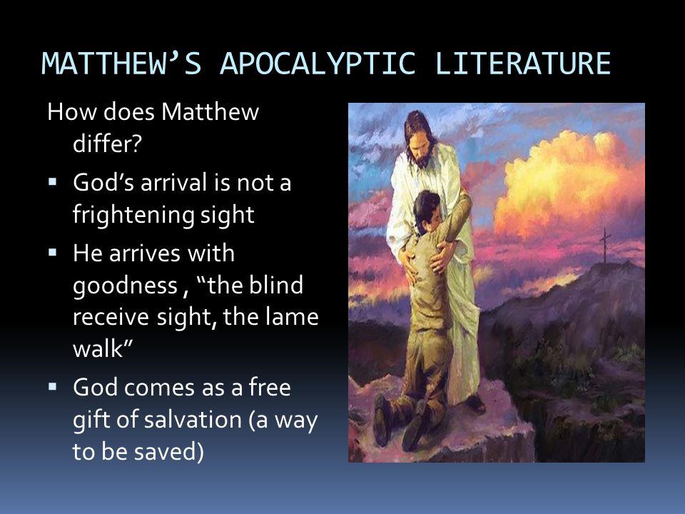 MATTHEW'S APOCALYPTIC LITERATURE