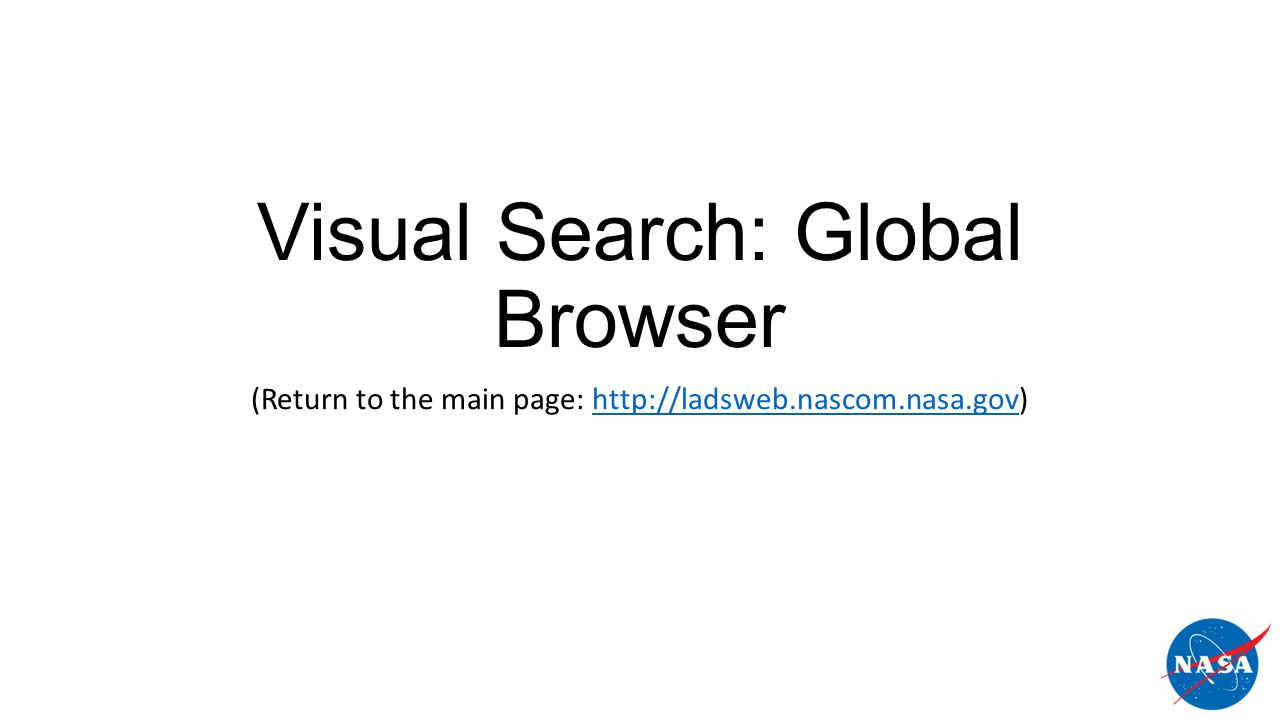 Visual Search: Global Browser