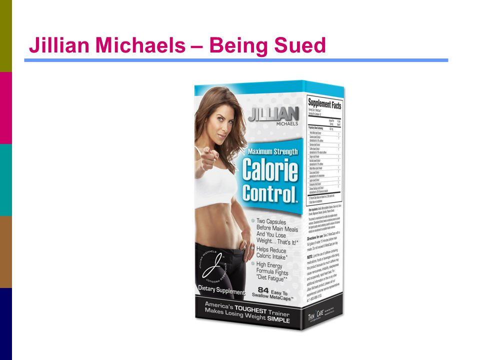 Jillian Michaels – Being Sued
