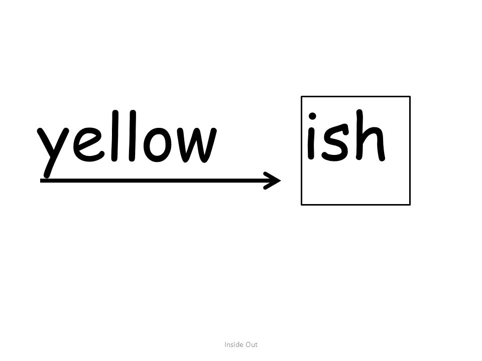 yellow ish Inside Out