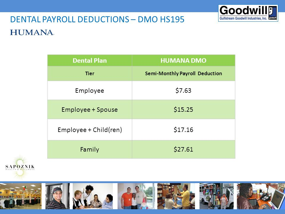 Semi-Monthly Payroll Deduction