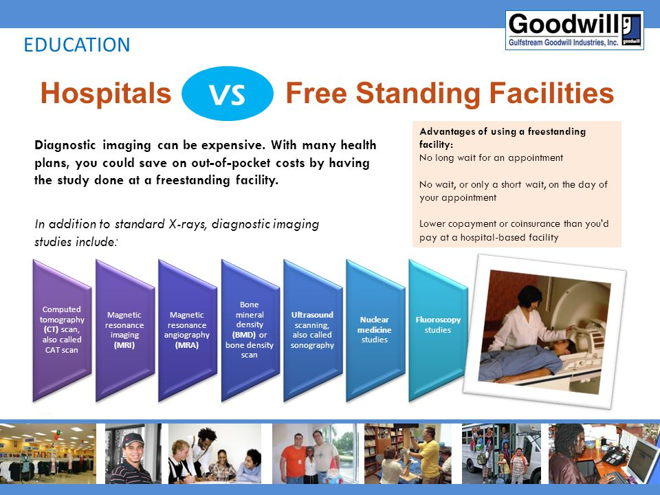 Hospitals Free Standing Facilities
