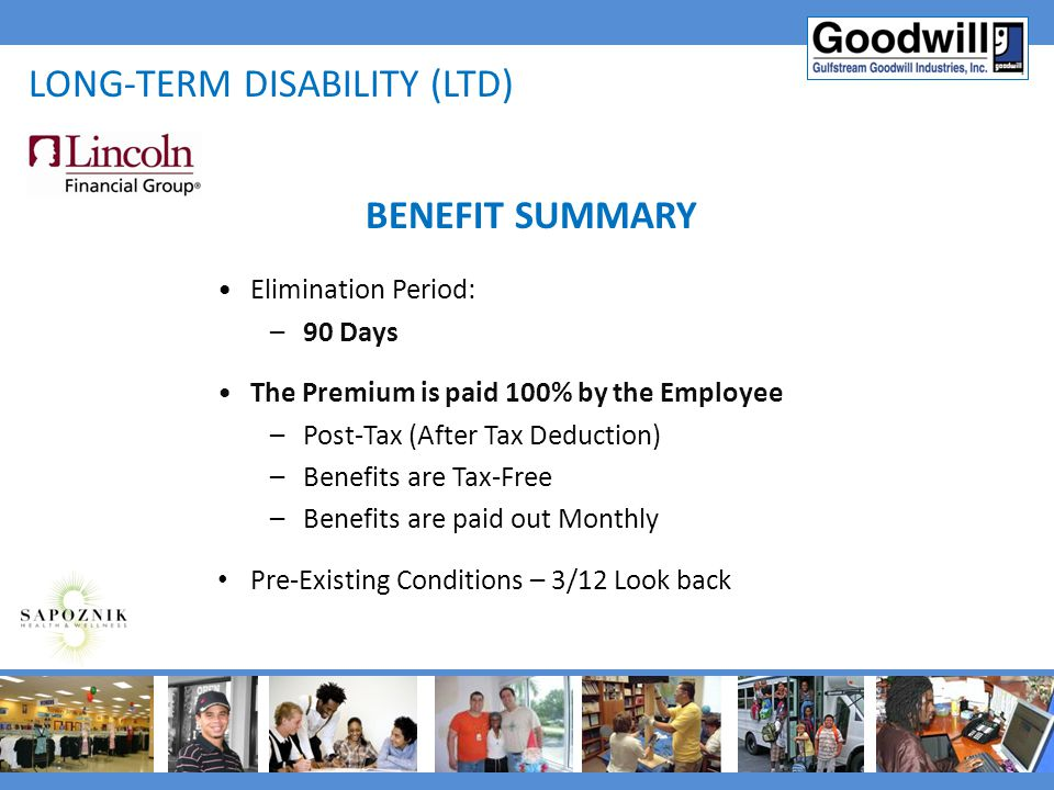 Long-term disability (ltd)