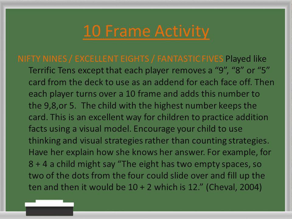 10 Frame Activity