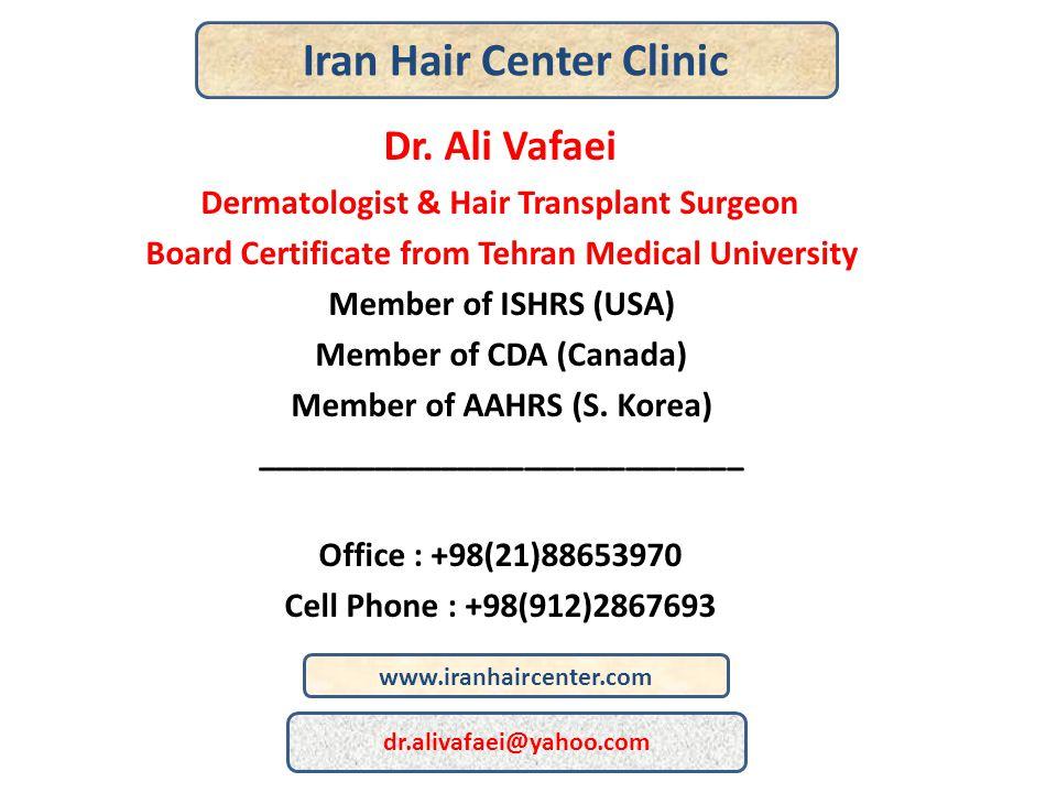 Iran Hair Center Clinic