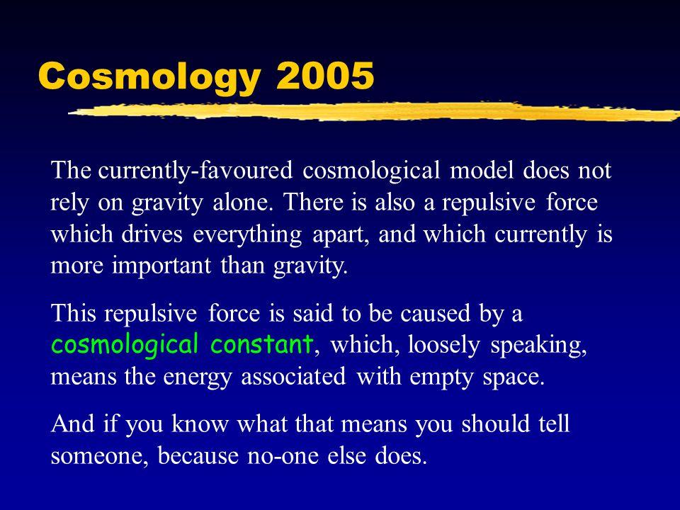 Cosmology 2005