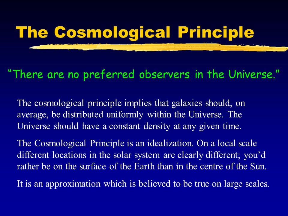 The Cosmological Principle