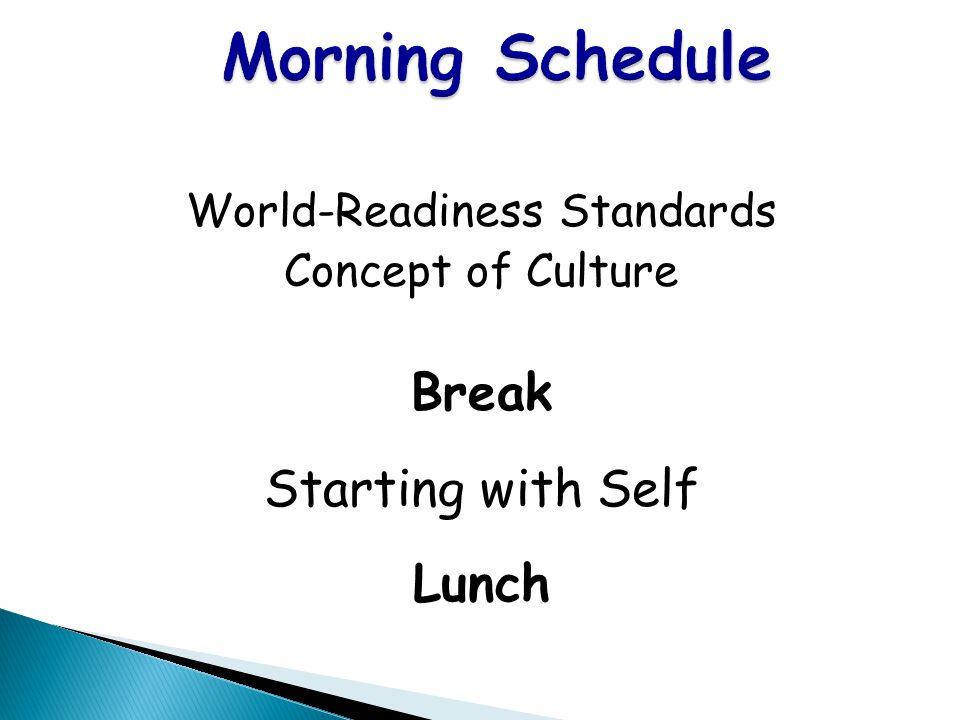 World-Readiness Standards
