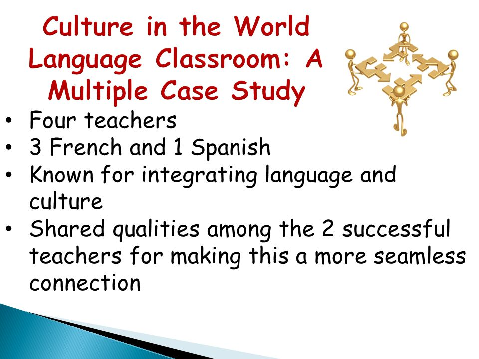 Culture in the World Language Classroom: A Multiple Case Study