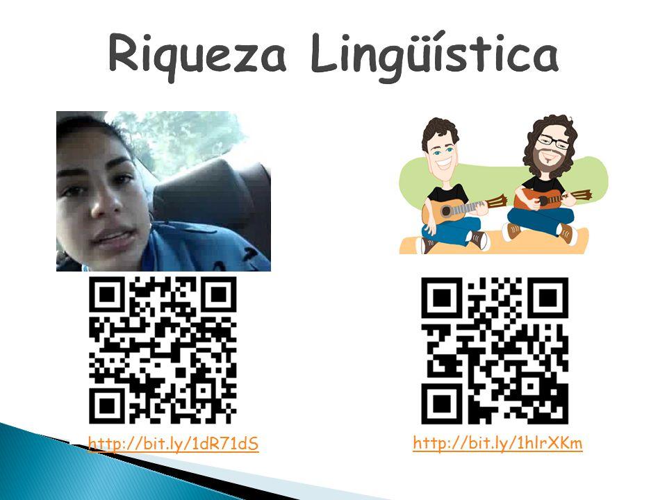 Riqueza Lingüística http://bit.ly/1dR71dS http://bit.ly/1hlrXKm
