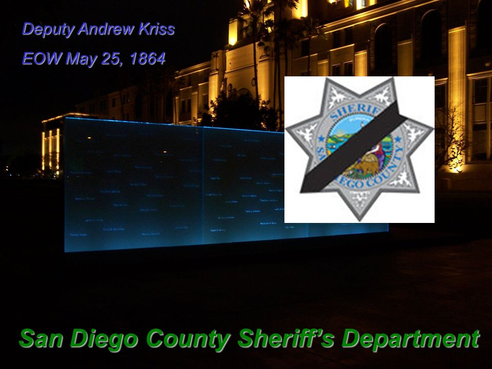 San Diego County Sheriff's Department