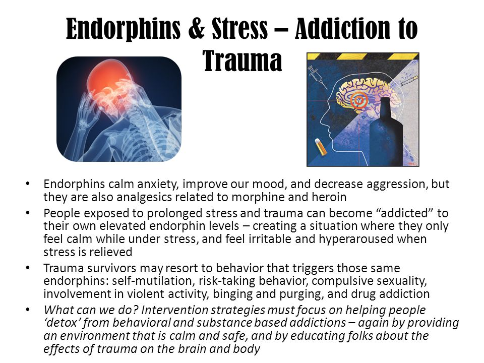 Endorphins & Stress – Addiction to Trauma