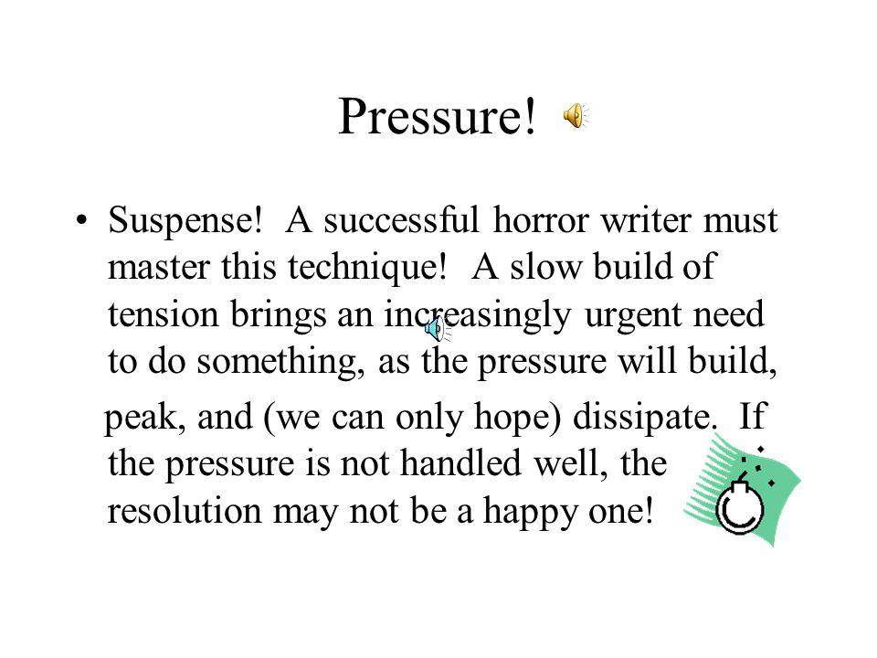 Pressure!
