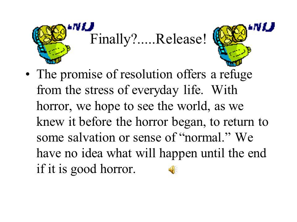 Finally .....Release!
