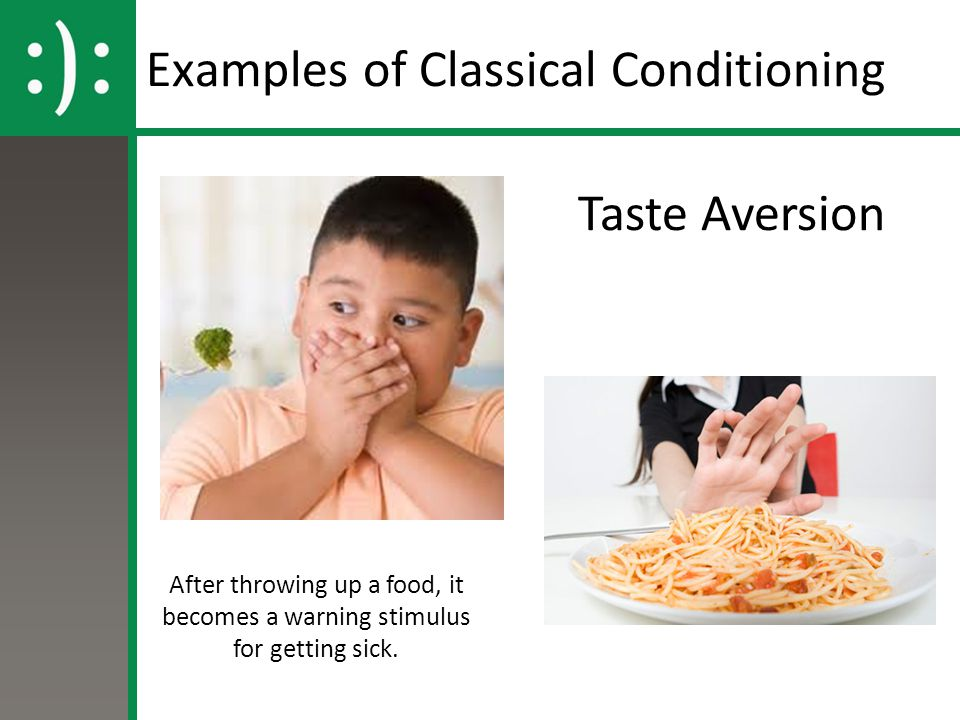 CONDITIONED TASTE AVERSION