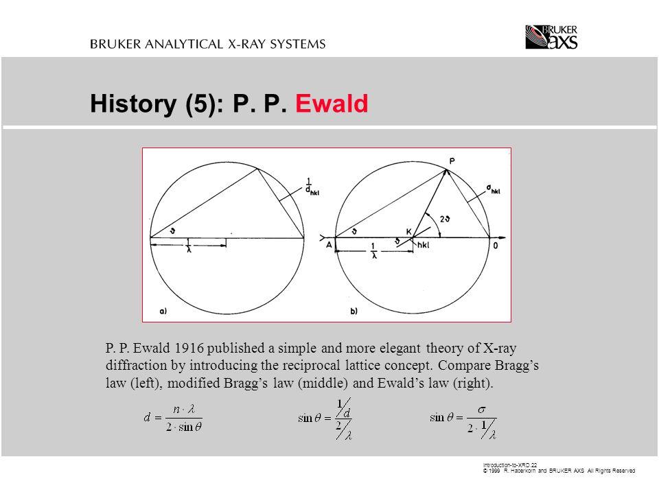 History (5): P. P. Ewald