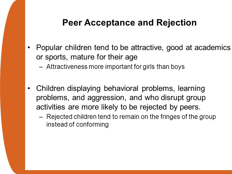 Peer Acceptance and Rejection