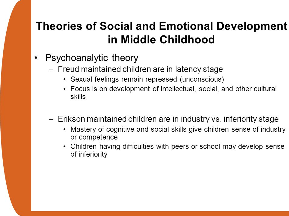 Social and emotional development in infancy