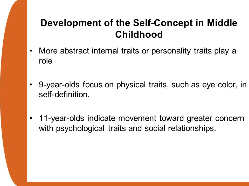 Development of the Self-Concept in Middle Childhood