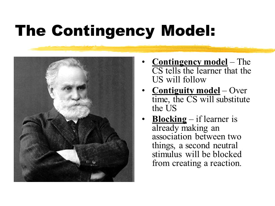 The Contingency Model: