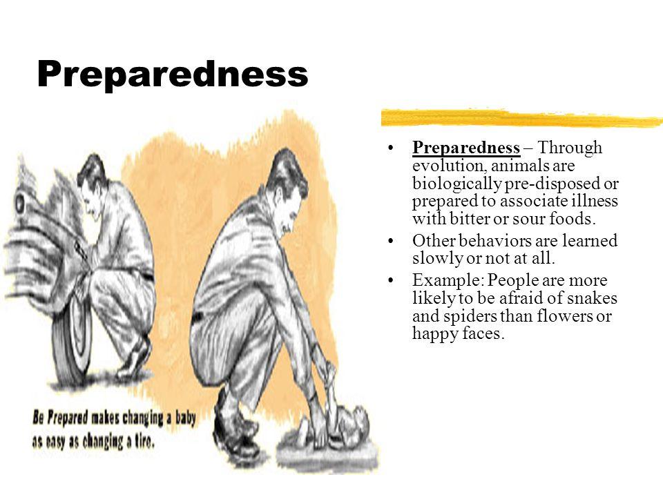 Biological preparedness definition