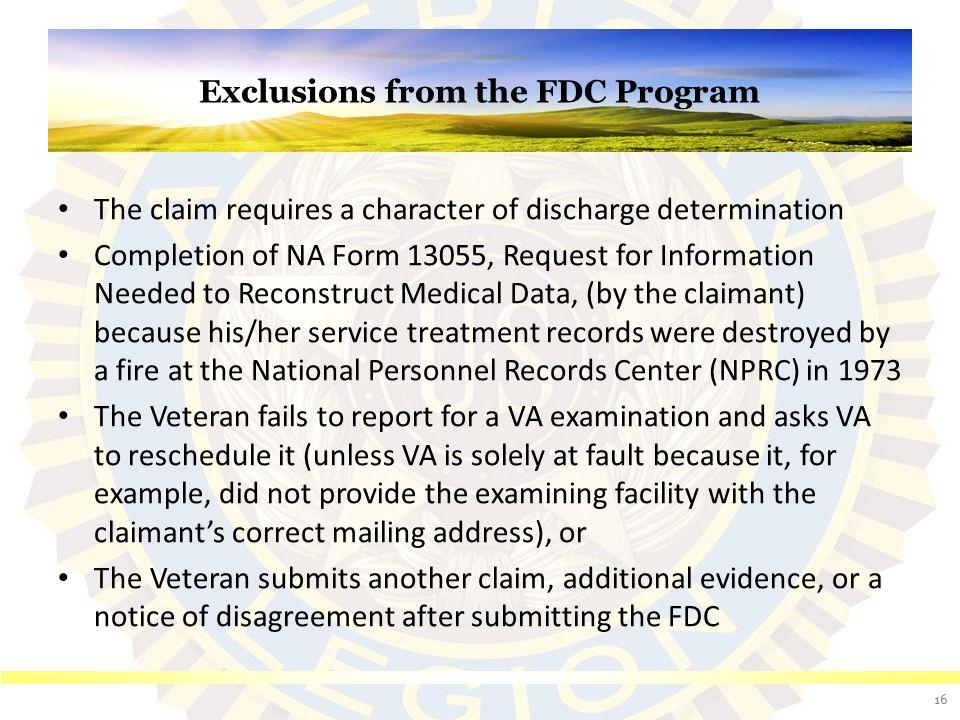 FDC Program Development