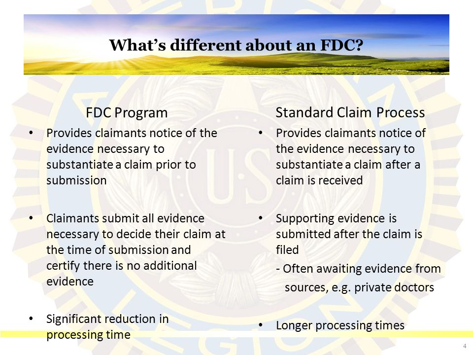 FDC Exclusions (Traditional Claims)