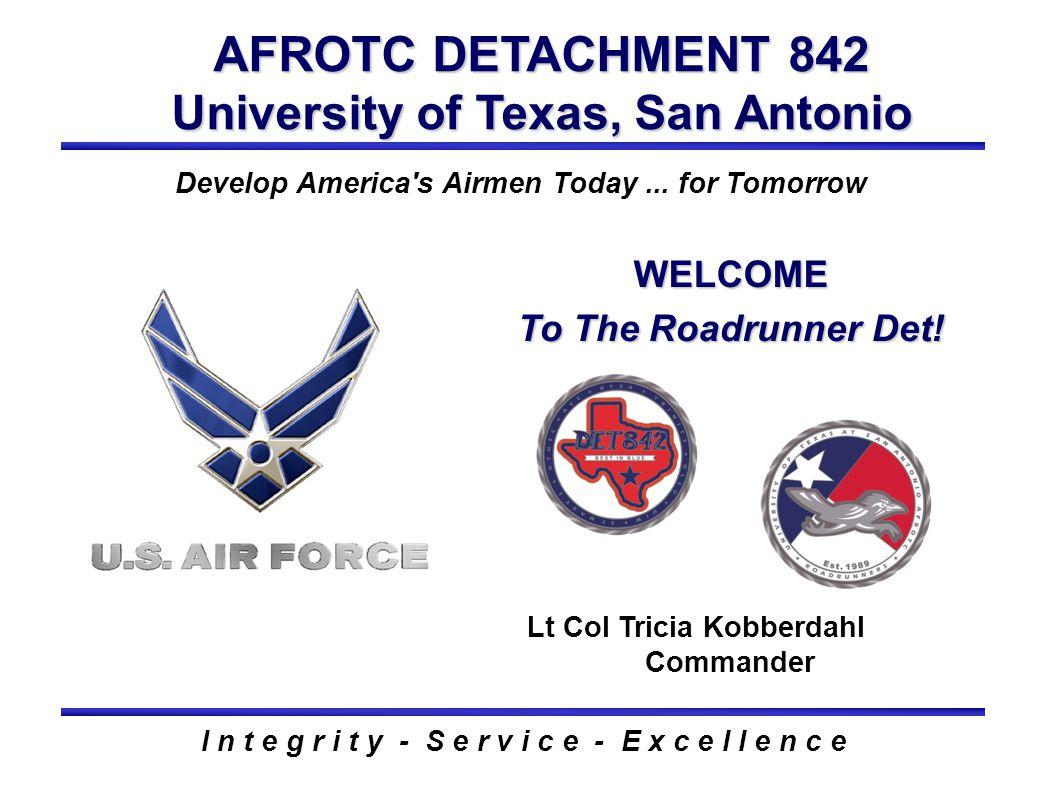 AFROTC DETACHMENT 842 University of Texas, San Antonio