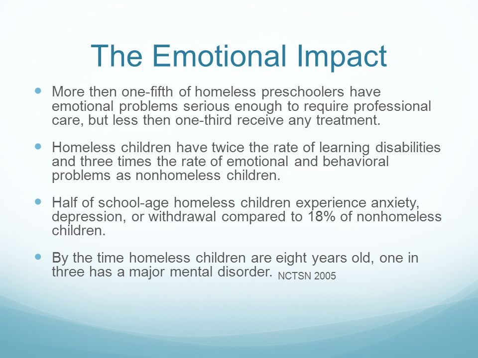 The Emotional Impact